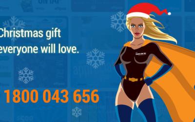 rewards come true Christmas eftpos gift cards